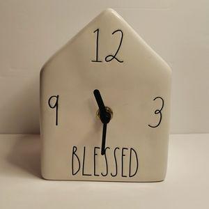 RAE DUNN Blessed clock